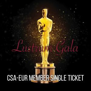 Lustrum Gala – CSA Member (Single Ticket)
