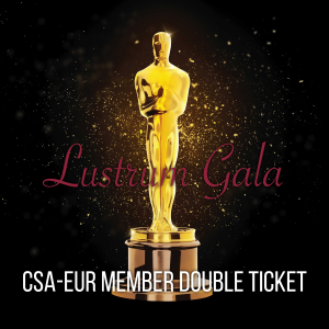 Lustrum Gala – CSA Member (Date tickets)